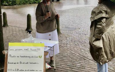 Handtekeningen actie tegen bomenkap Brink verloopt enorm succesvol